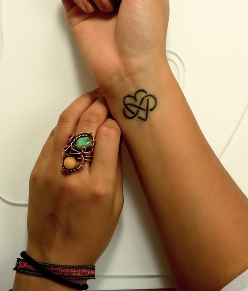 infinity love Tattoo