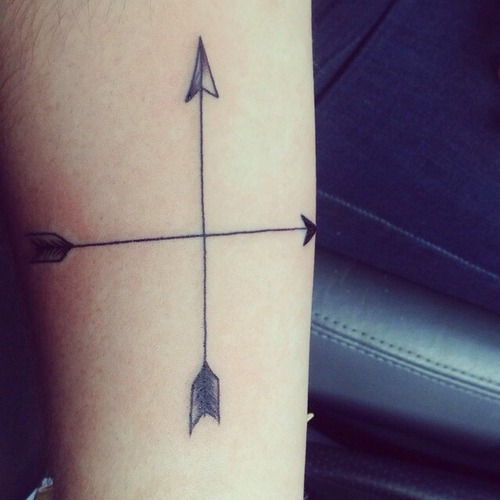 direction Tattoo