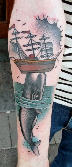 Where's the Boat? Tattoo