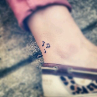 Hear the Music Tattoo