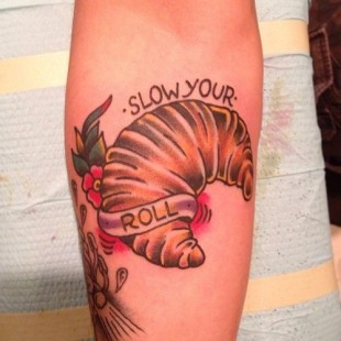 Slow Your Roll Tattoo