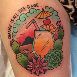 Change is All the Rage Tattoo