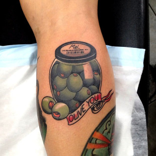 Olive You Tattoo